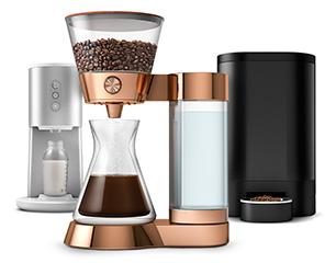 Quirky, une entreprise qui prépare une cafetière... qui achètera automatiquement du café sur Amazon.